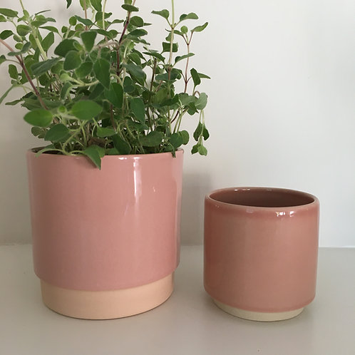 'Eno' pot dusty rose