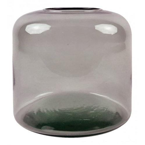 Valencia jar vase, mauve/taupe