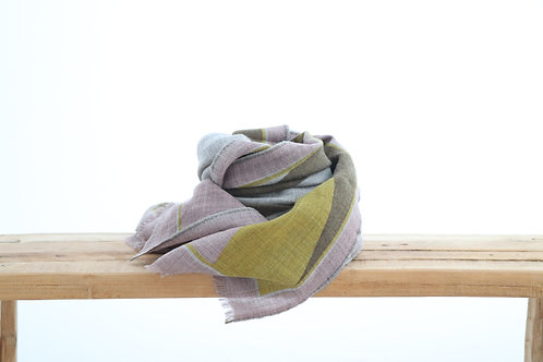 Wool scarf pastel