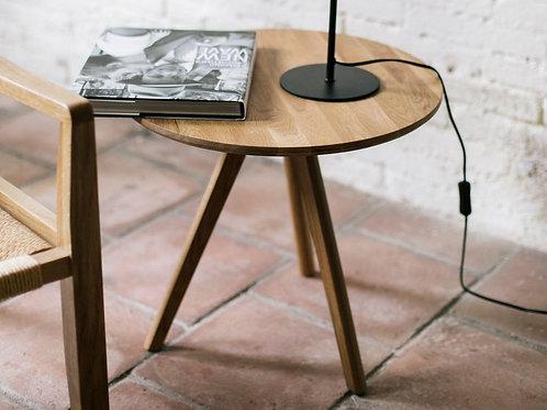 Natural oak wood table S