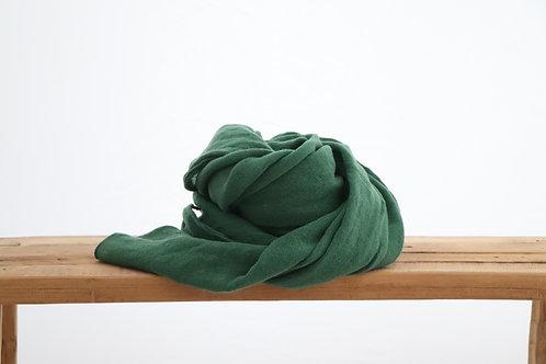 Scarf dark green-858