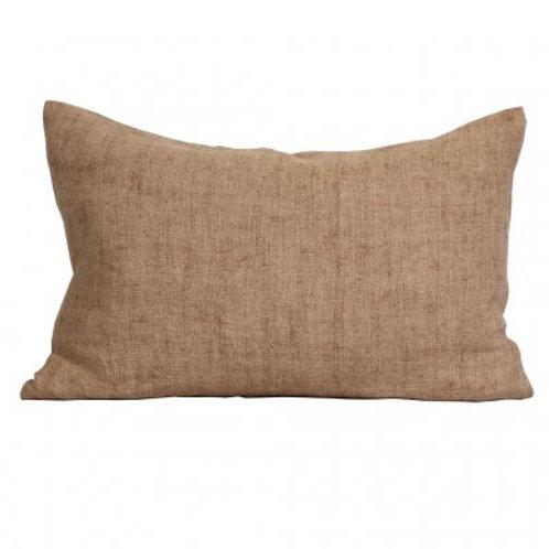 Cushion linen 'Margaux' almond
