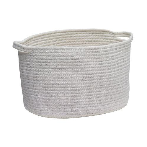 Rena storage basket M ivoire