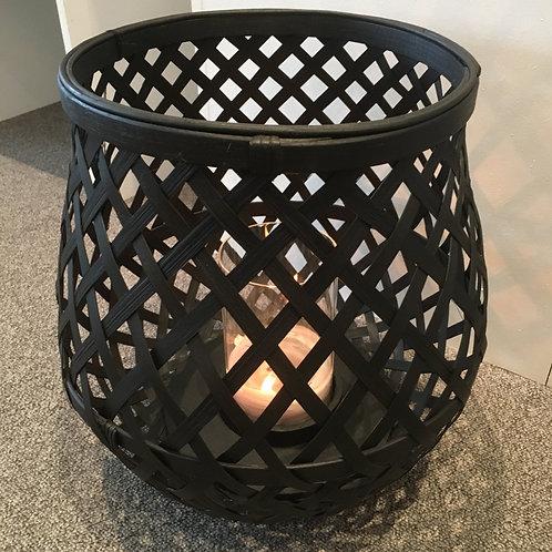 Lantern bambou black
