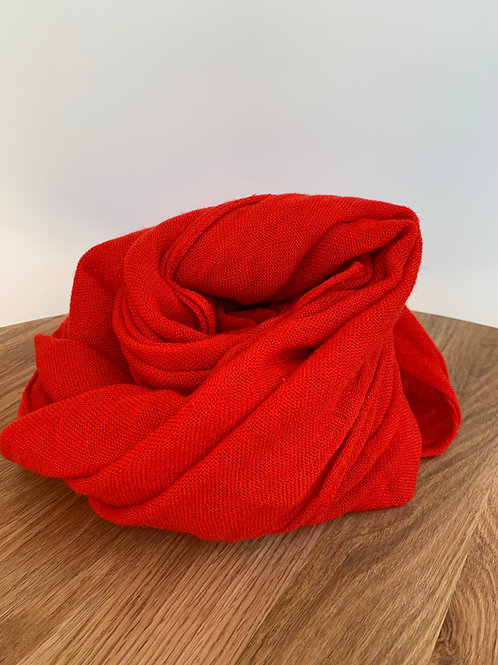 Scarf red - 660