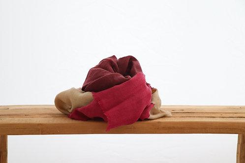 Wool scarf violine
