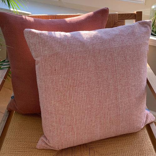 Cushion silk 'rose'
