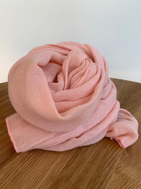 Scarf rose-406