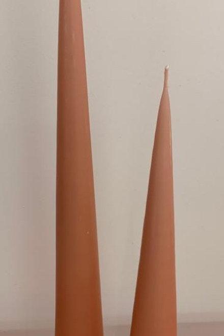 Cone candle Powder