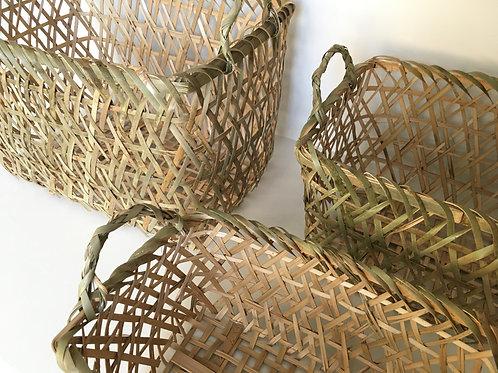 Bamboo basket rectangle