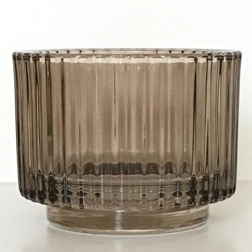 Candleholder 'Gusta' brown