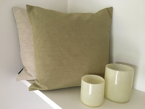 Cushion 'Esala Putty / Teatree'