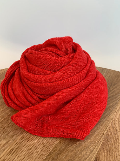 Scarf red - 659
