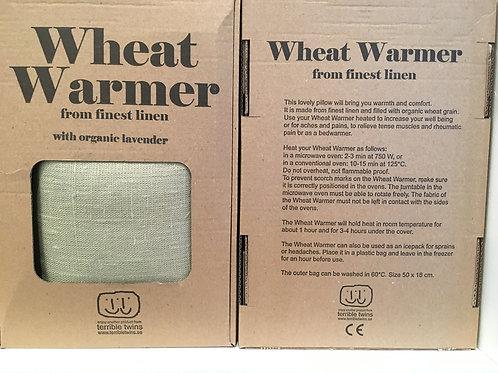 Wheat warmer light olive green