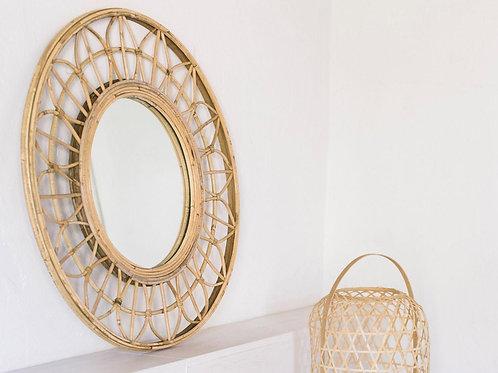 Mirror rattan