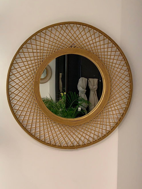 Mirror bamboo and wood