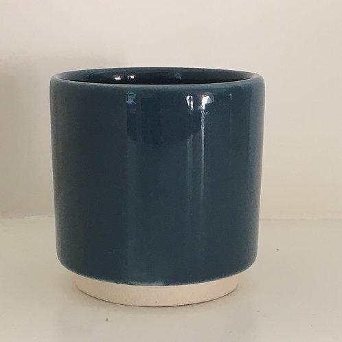 'Eno' pot blue