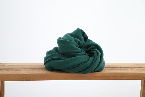 Scarf dark green