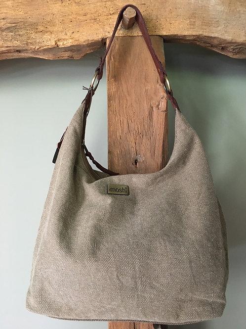 Shoulder bag 'Camilla' khaki