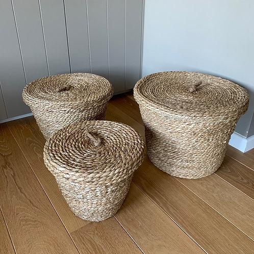 Basket 'Nairobi' with lid