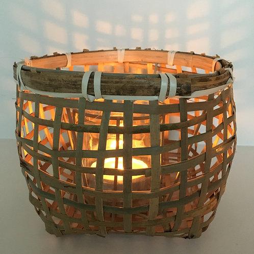 Hurricane 'Jorin', bamboo/glass, natural S