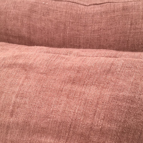 Linen cushion Rouge