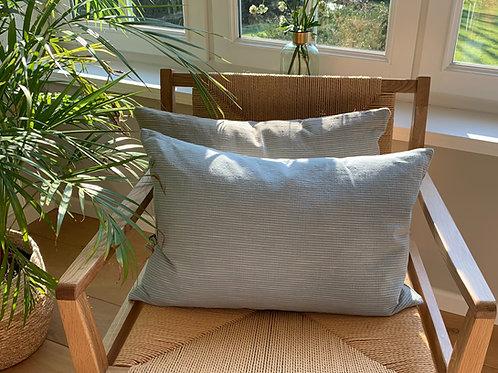 Cushion 'Kyoto' dusty blue