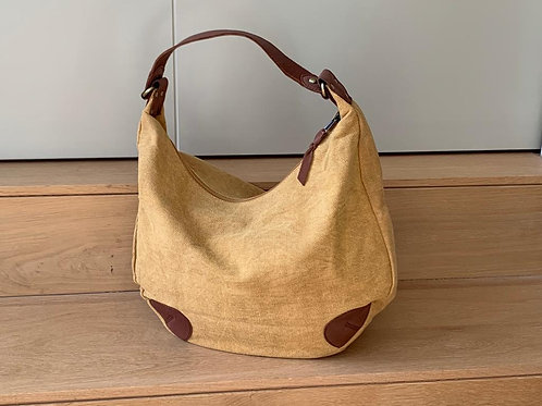 Shoulder bag 'Cleo' mustard