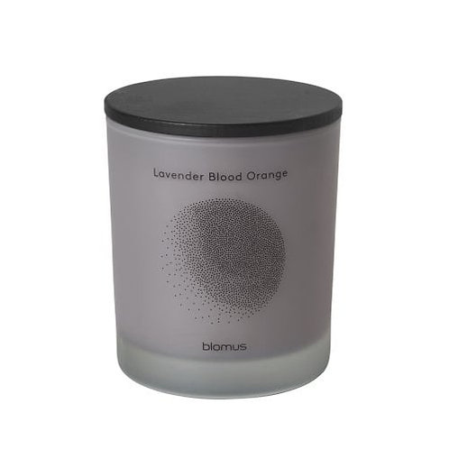 'Flavo' scented candle, lavender blood orange