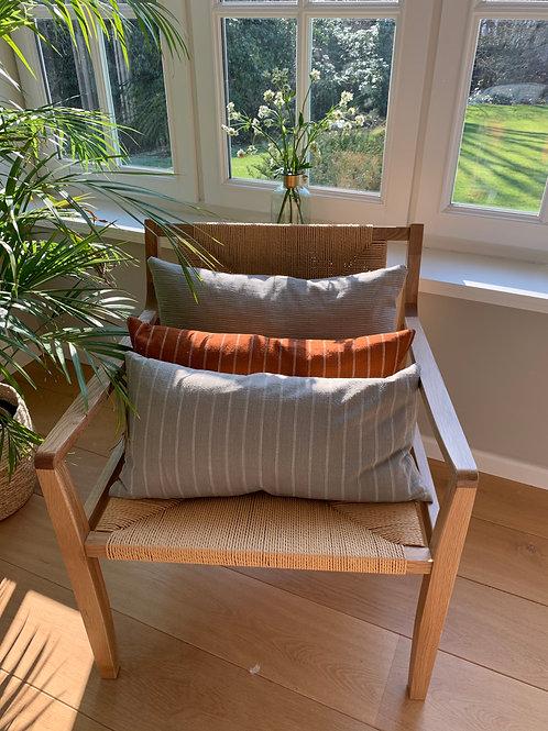 Cushion 'Kyoto' clay long