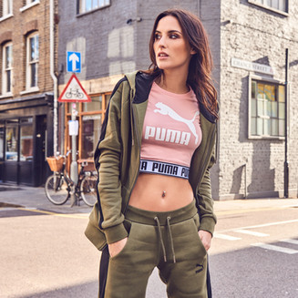 Lucy Watson for PUMA Campaign