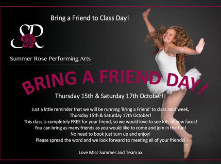 Bring a Friend to Dancing Day!
