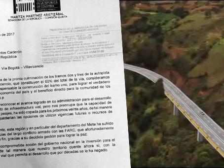 """GOBIERNO NACIONAL, """"A METERSE LA MANO AL DRIL"""" para financiar la infraestructura vial del Meta:"""