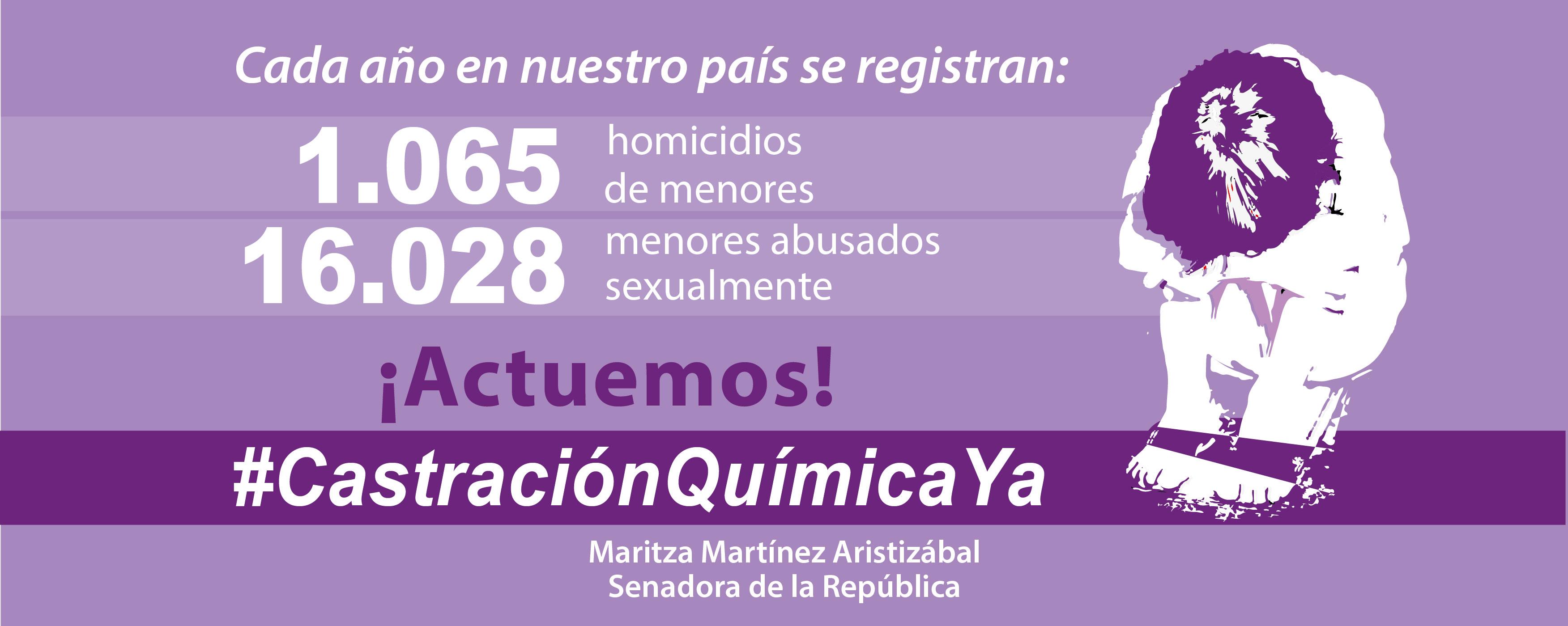 #CastraciónQuímicaYa