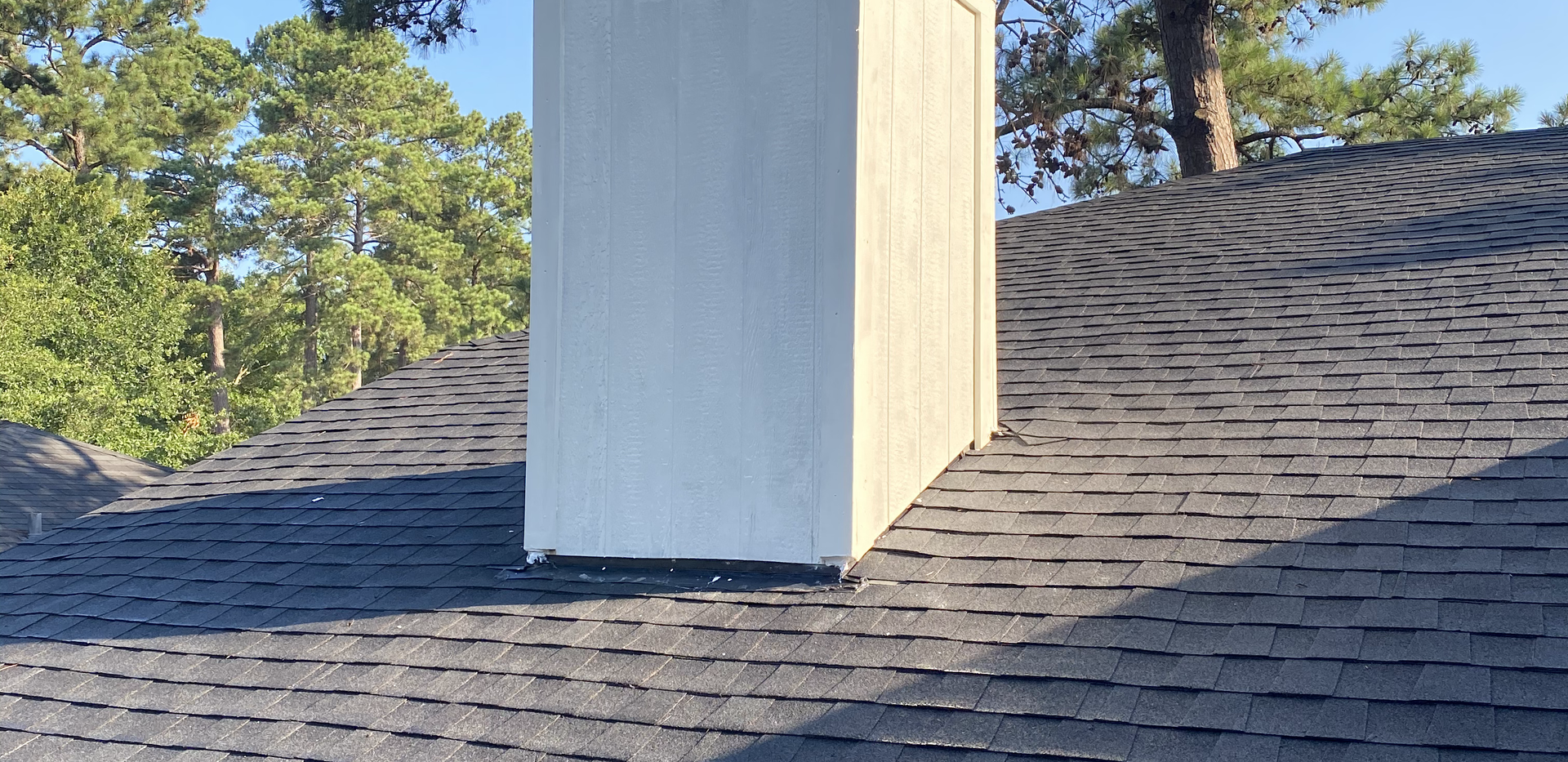 CHIMNEY REPLACED