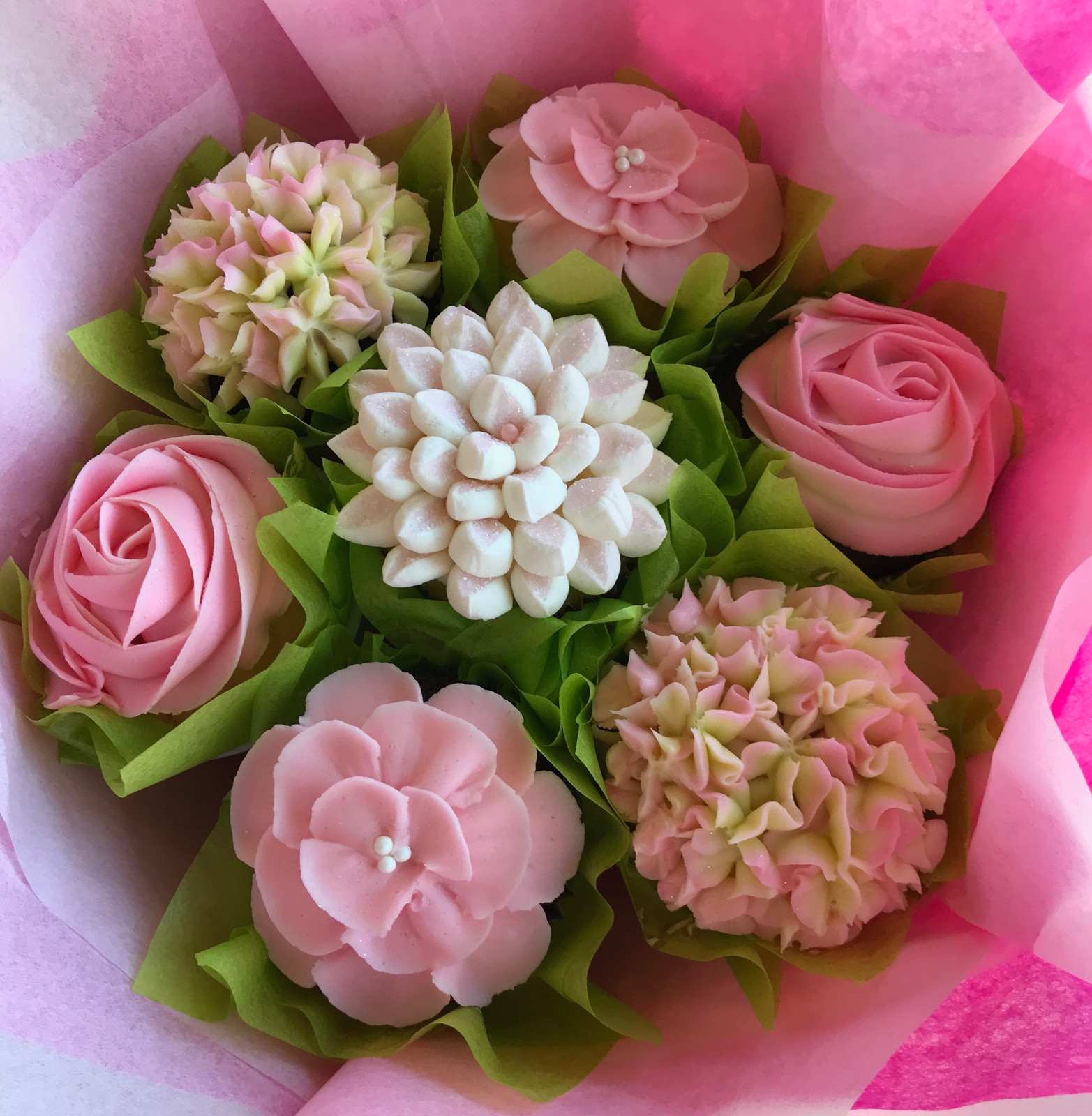 Cupcake bouquets cupcake bouquet gallery izmirmasajfo