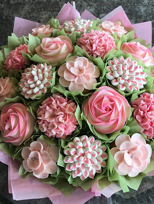 Cupcake Bouquets at The Art of Cake Studio