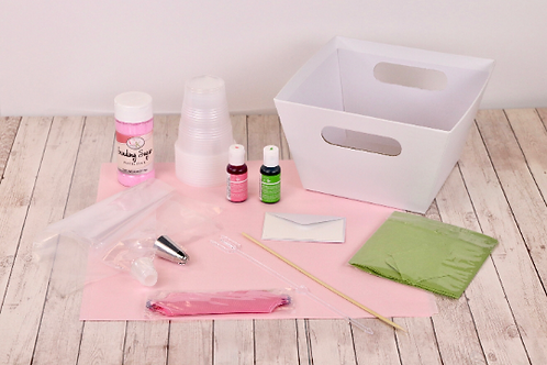 Cupcake Bouquet Video Tutorial & Kit - Pink
