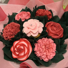 Holly's Cupcake Bouquet
