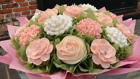 Summer Morning Cupcake Bouquet
