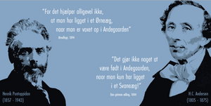 Henrik Pontoppidan og HC Andersen