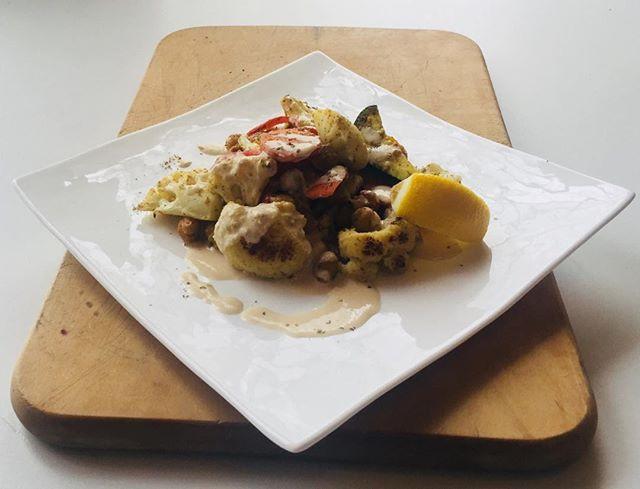 Vegan Middle Eastern Roasted Vegetables