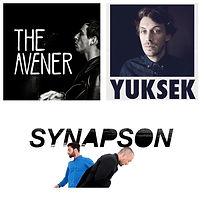 The Avener, Synapson et Yuksek