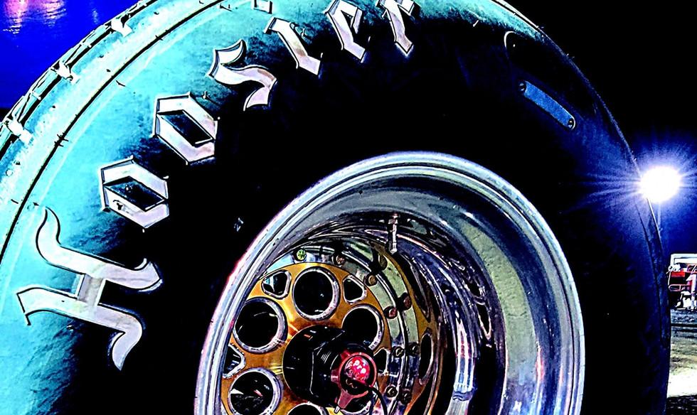 Tire shot
