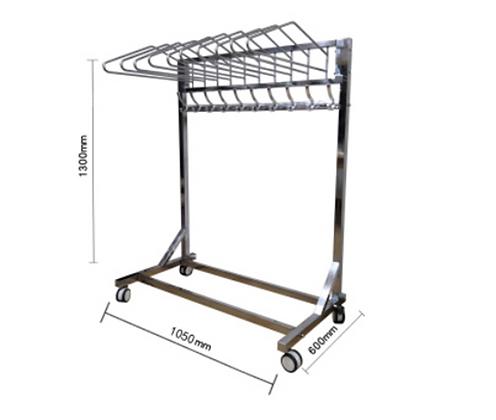 Mobile Apron Hanger