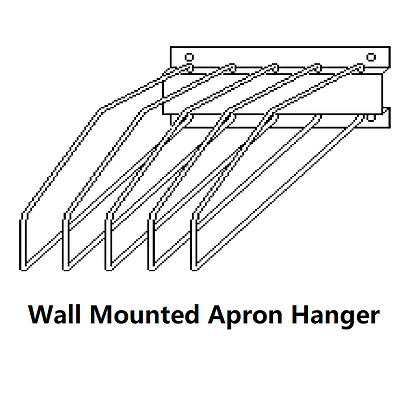 Wall Mounted Apron Hanger