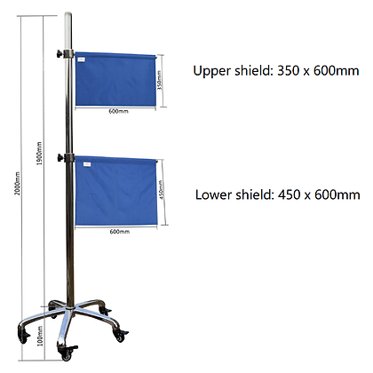 Mobile Shielding Single Stand