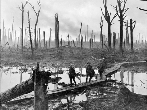 Hela första världskriget i ett inlägg