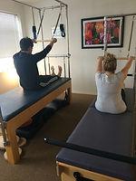 Moving Body Pilates, reformer