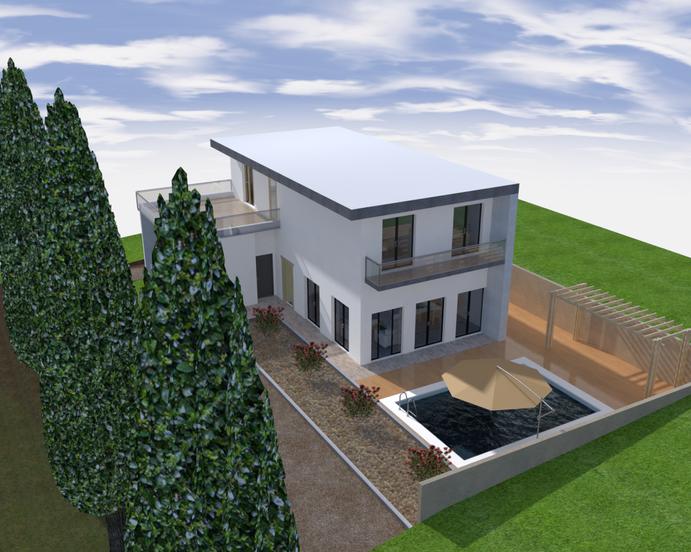 Projet de construction maison unifamiliale